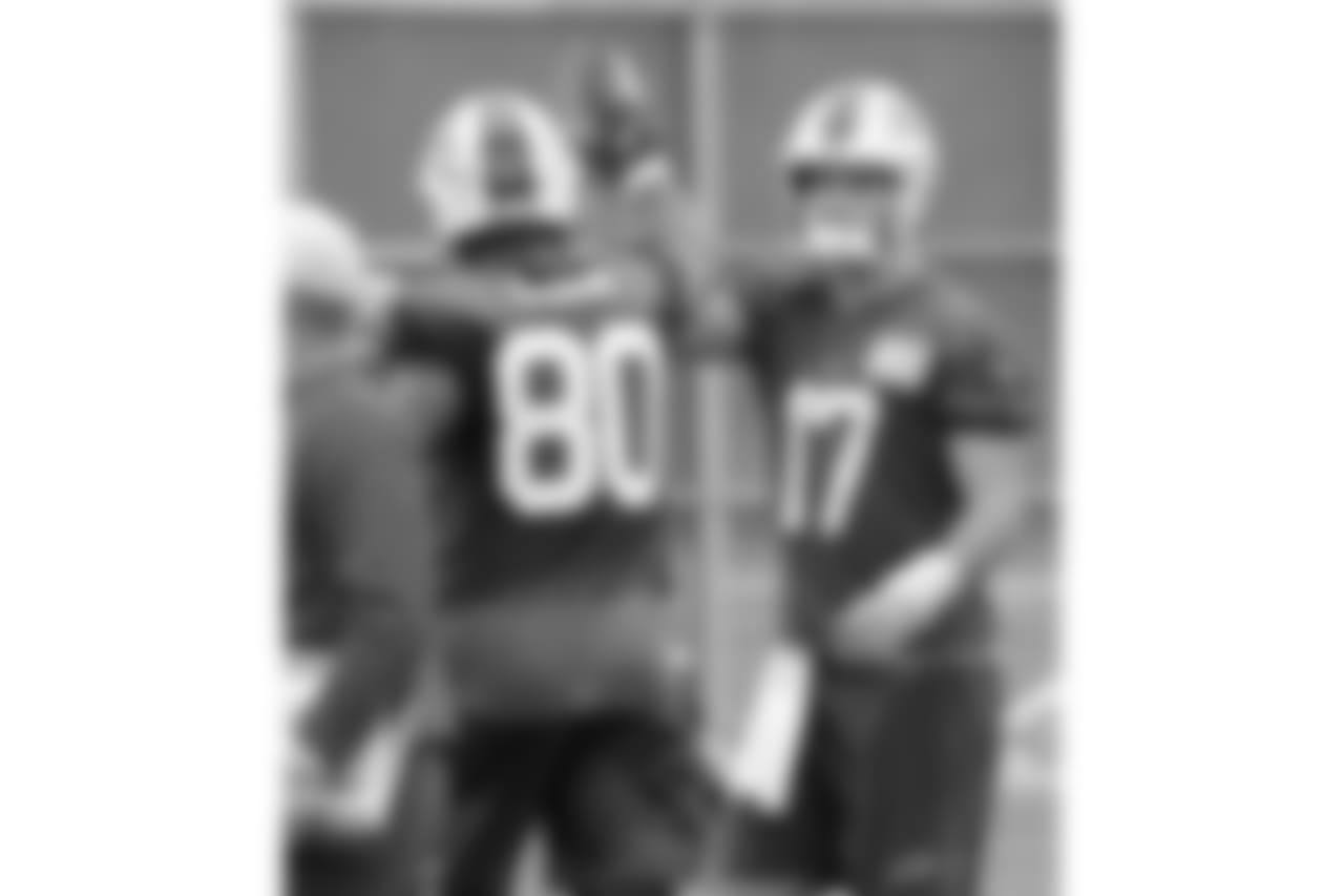 Buffalo Bills practice
