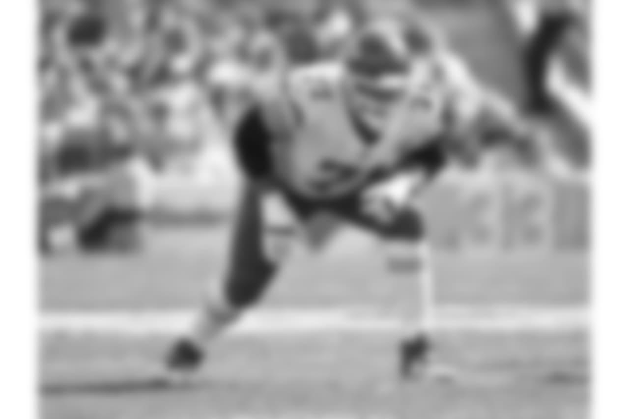 Offensive tackle Mitchell Schwartz