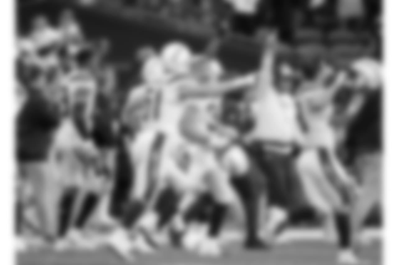 Los Angeles Chargers vs Seattle Seahawks on Sunday, November 5, 2018 in Seattle, Washington. Final score:  LAC 25 - SEA 17