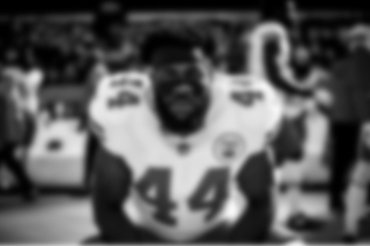 Chiefs' team photographers favorite black and white images from last week's game