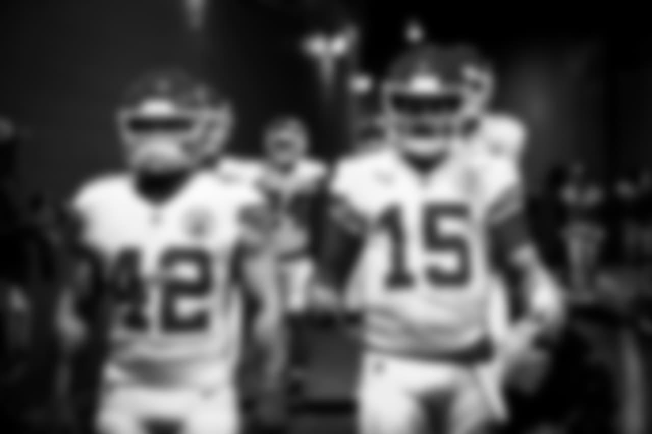 Kansas City Chiefs at Los Angeles Rams at Los Angeles Memorial Coliseum on November 19, 2018