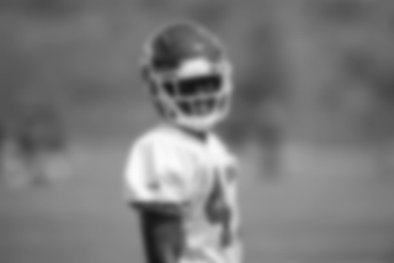Kansas City Chiefs cornerback Makinton Dorleant (43) during practice on 8/28/18