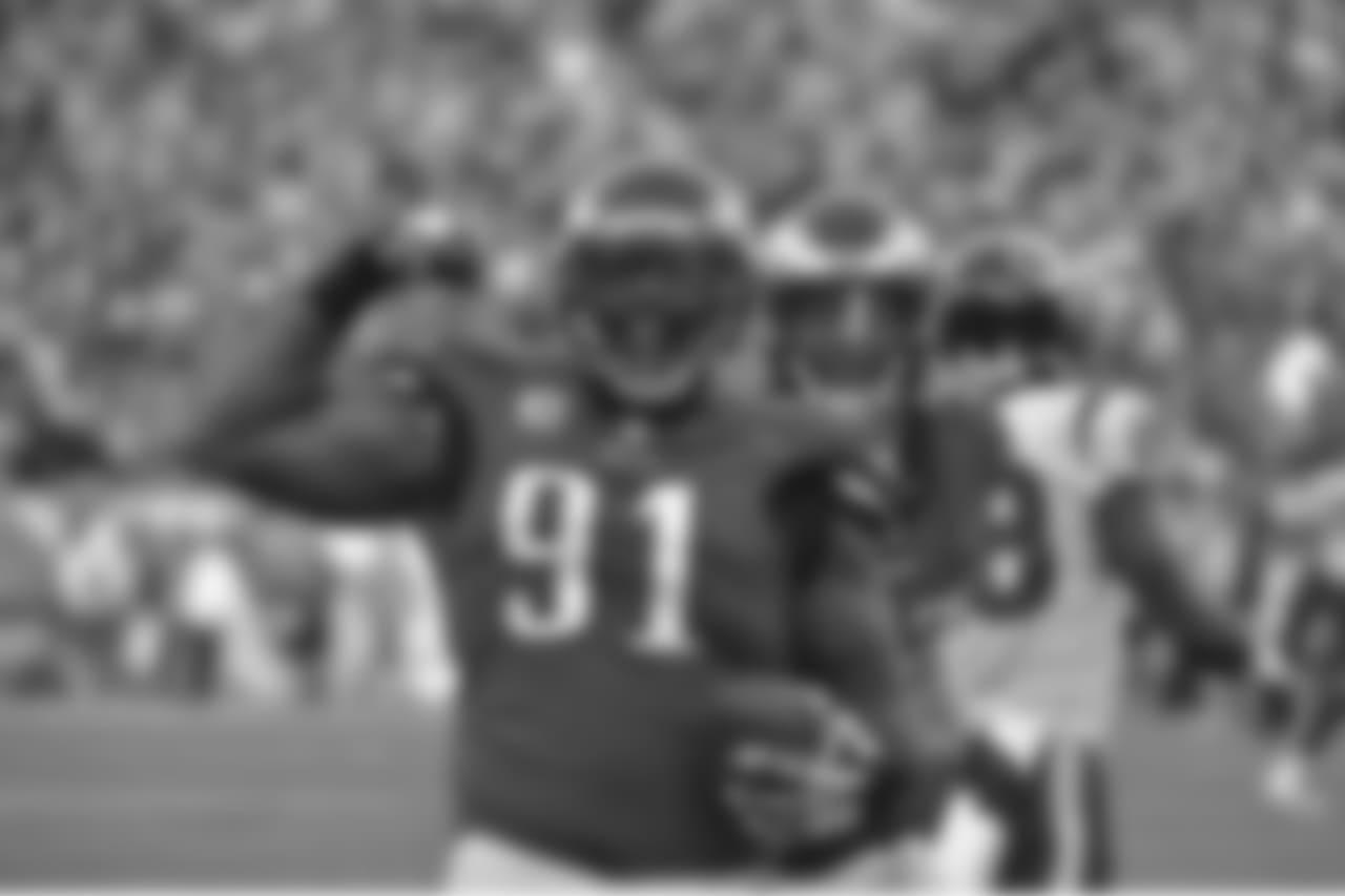 DT Fletcher Cox  Philadelphia Eagles vs. Houston Texans at Lincoln Financial Field on December 23, 2018