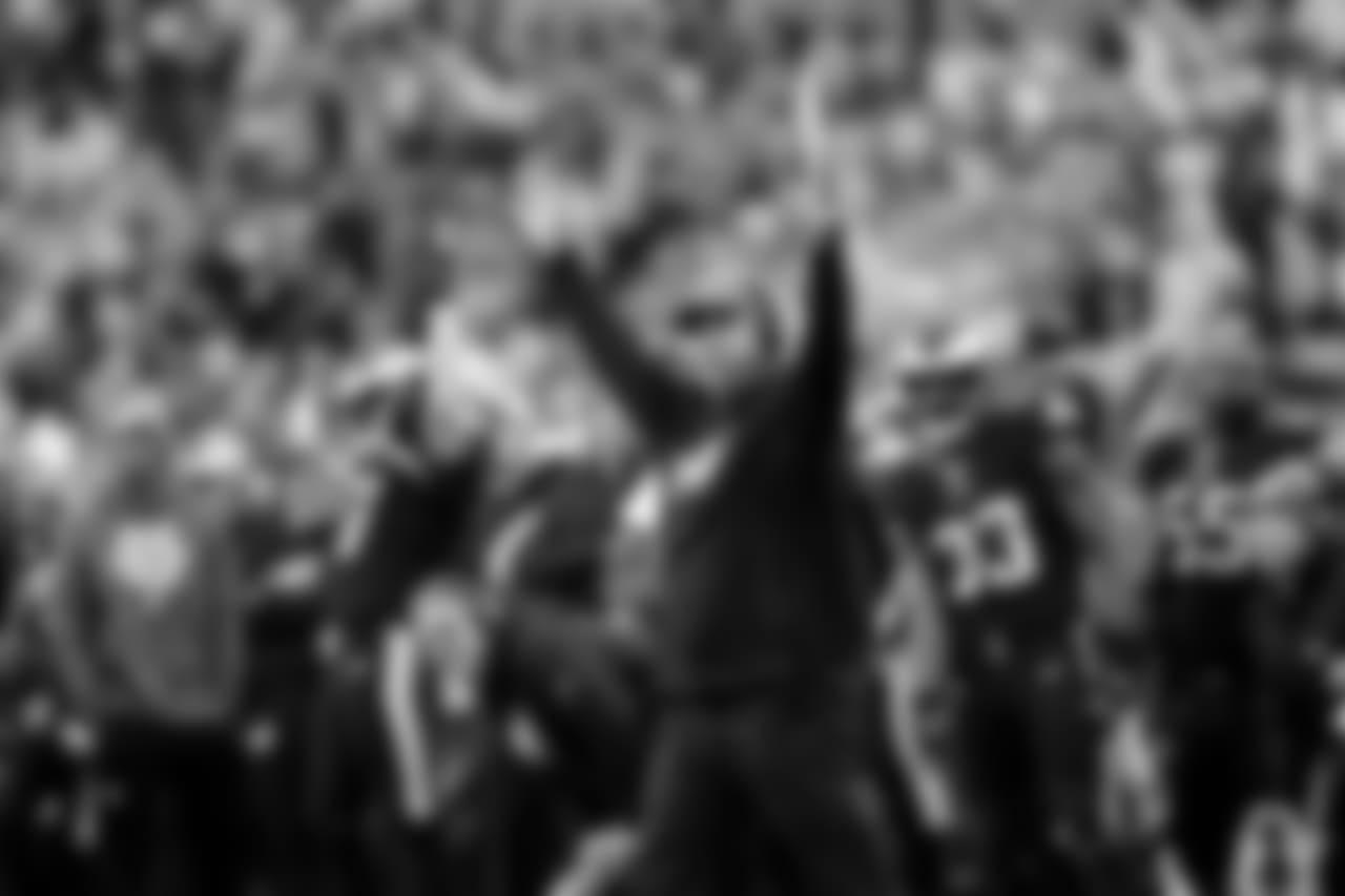 Head Coach Doug Pederson  Philadelphia Eagles vs. New York Giants at Lincoln Financial Field on November 25, 2018