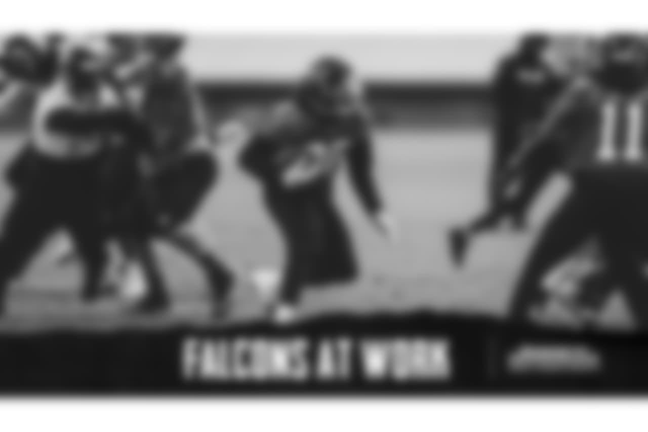 RB Tevin Coleman  Atlanta Falcons / Stacey Ward