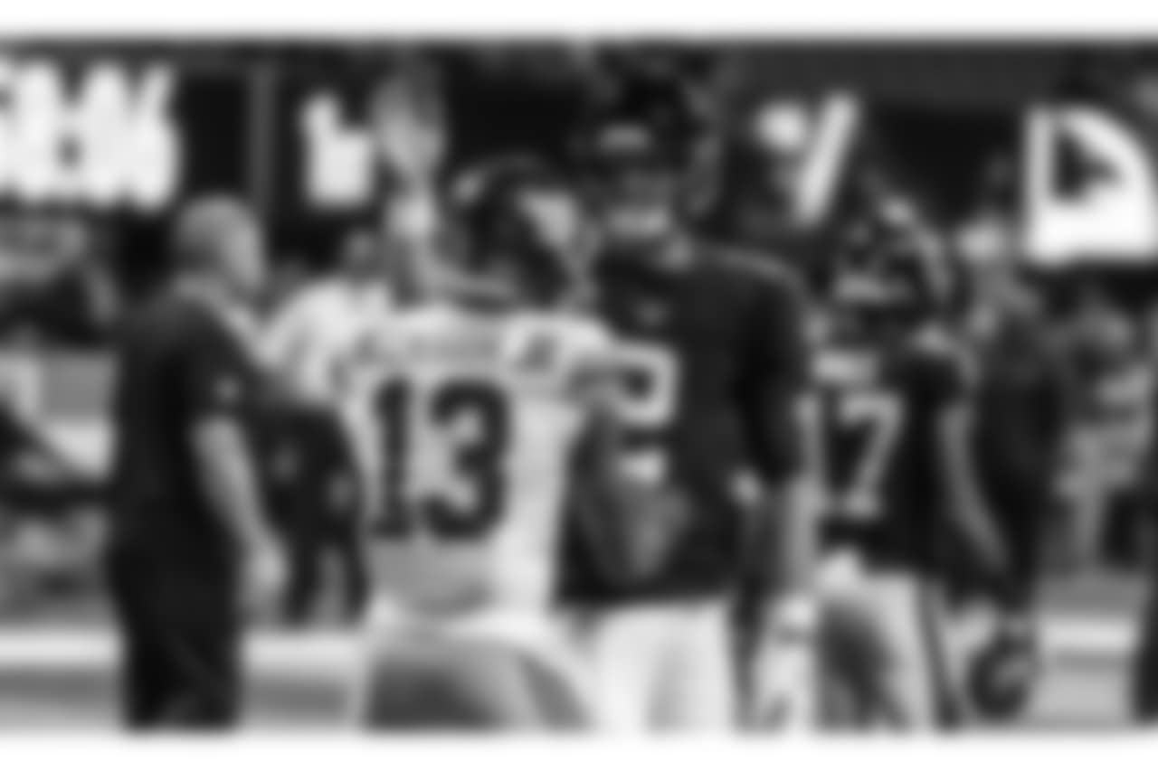 QB Matt Ryan, Odell Beckham Jr.  Atlanta Falcons / Stacey Ward