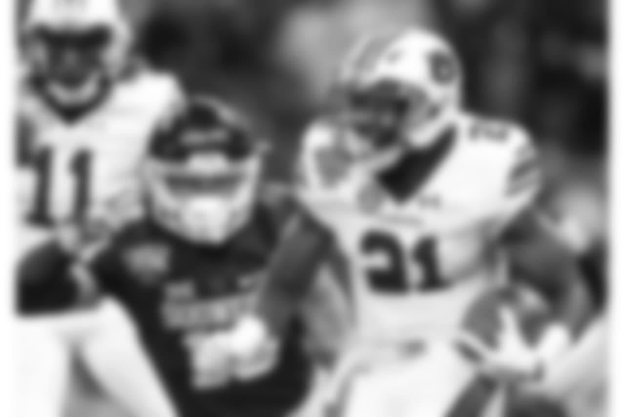 50. Kerryon Johnson, RB, Auburn (AP Photo/Butch Dill)