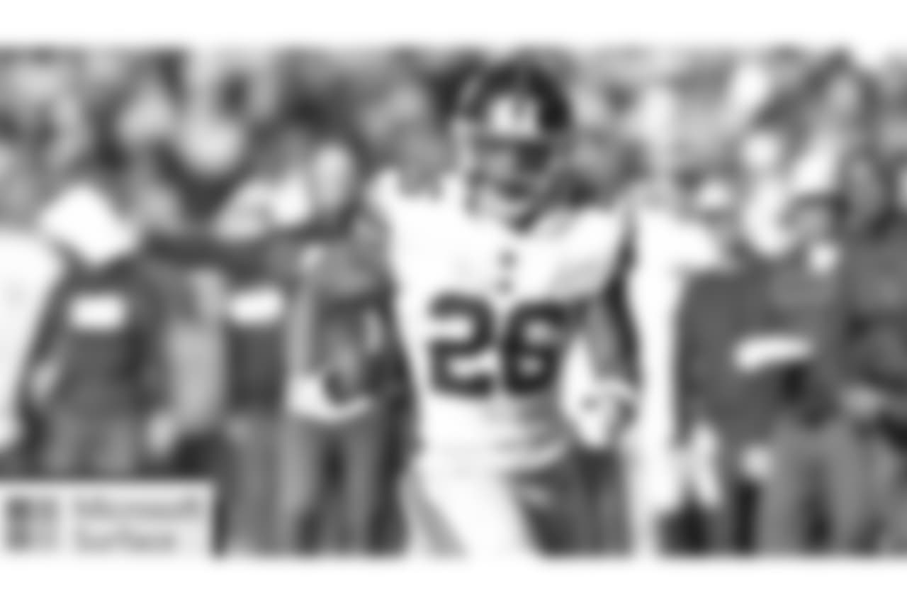 RB SAQUON BARKLEY  Barkley, who was named to the NFC Pro Bowl squad this week, needs seven receptions to break Reggie Bush's NFL record for a rookie running back (88 in 2006). He also needs one more game with 100 scrimmage yards to tie Eric Dickerson's record (13 games in 1983) for most by a rookie in NFL history.