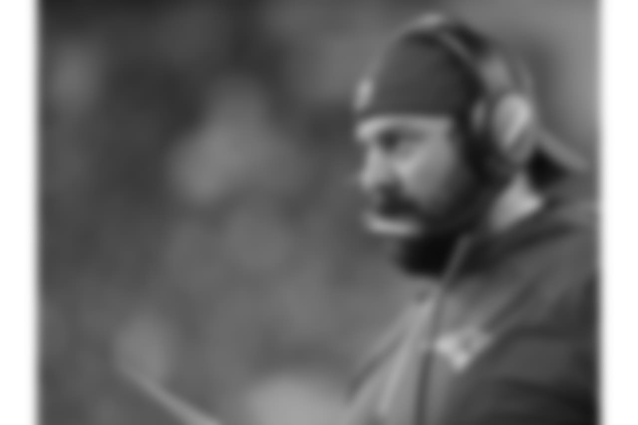 Lions Head Coach Matt Patricia spent 14 seasons with the Patriots (2004-17) before becoming Detroit's head coach on Feb. 5, 2018. Initially joining New England as a coaching assistant in 2004, Patricia served as an assistant offensive line coach in 2005, linebackers coach from 2006- 10, safeties coach in 2011 and defensive coordinator from 2012-17. Patricia helped the Patriots capture three Super Bowl championships, six AFC Conference championships and 13 AFC East Division championships.