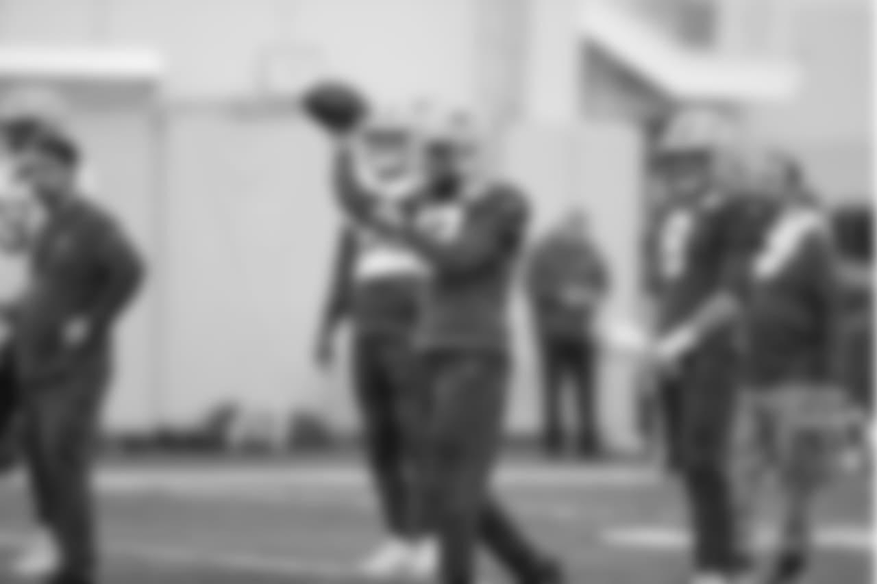 Green Bay Packers during practice inside the Don Hutson Center on Thursday, November 22, 2018.