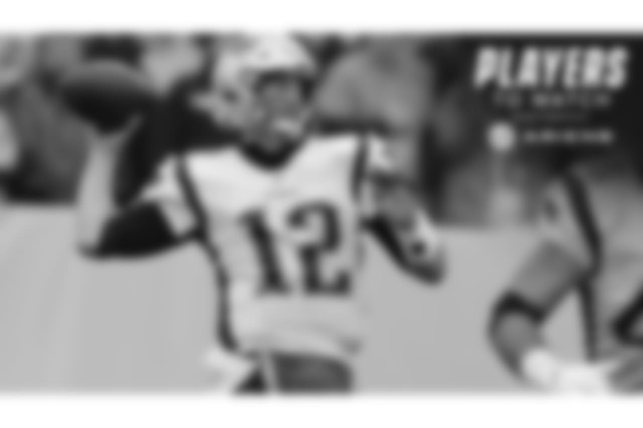 Tom Brady – Brady used the bye week to balance out some family time with extra video review of the first half of the season. With mediocre numbers through the first 10 games, Brady and the Patriots offense should be frothing at the mouth coming out of the break against the rival Jets.