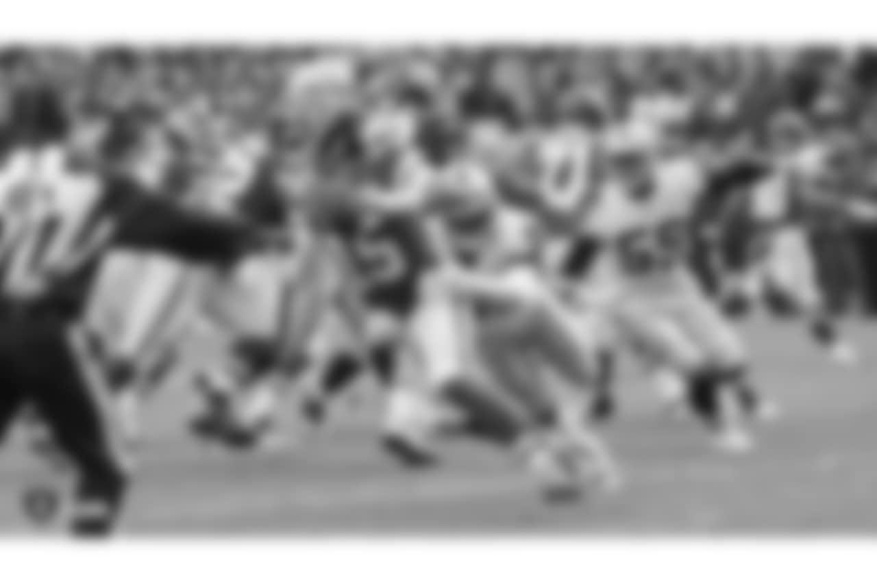 The Oakland Raiders regular season game against the Kansas City Chiefs at Arrowhead Stadium, Sunday, December 30, 2018, in Kansas City, Missouri.