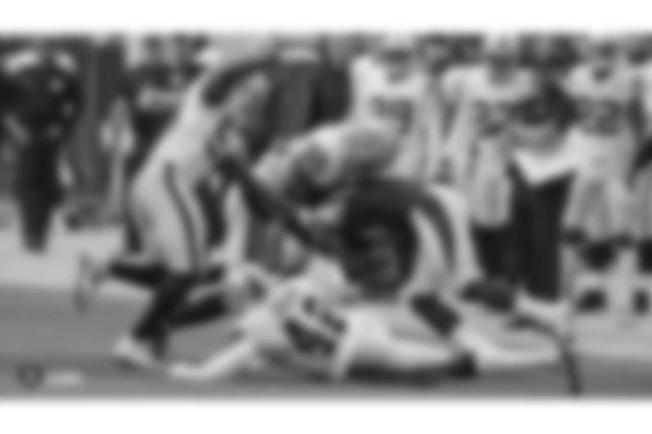 The Oakland Raiders regular season game against the Arizona Cardinals at State Farm Stadium, Sunday, November 18, 2018, in Glendale, Arizona.