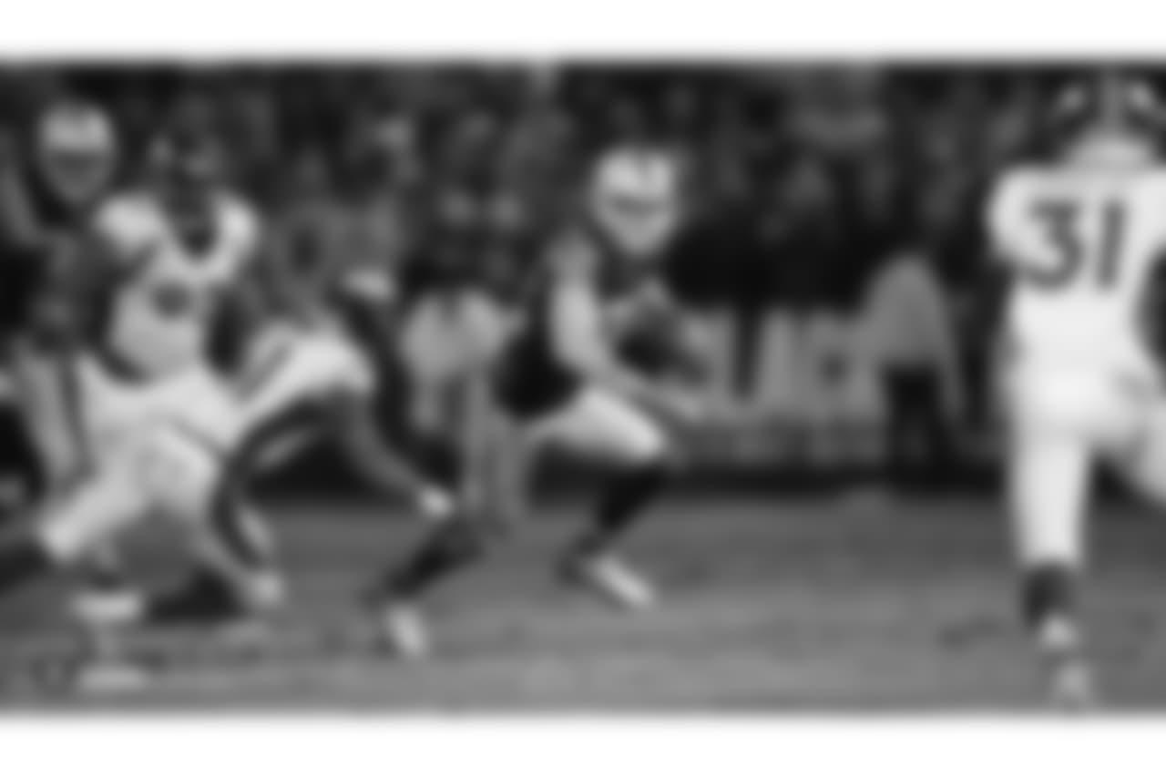 Home game vs. the Denver Broncos - Last meeting at home: December 24, 2018 – Raiders 27, Broncos 14