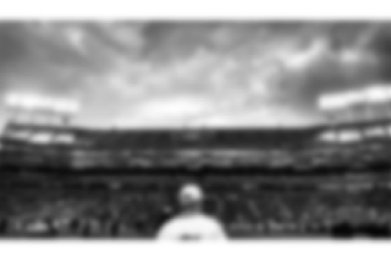 Oakland Raiders owner Mark Davis before the Oakland Raiders regular season game against the Denver Broncos at Oakland-Alameda County Coliseum, Monday, December 24, 2018, in Oakland, California. The Oakland Raiders won 24-17.