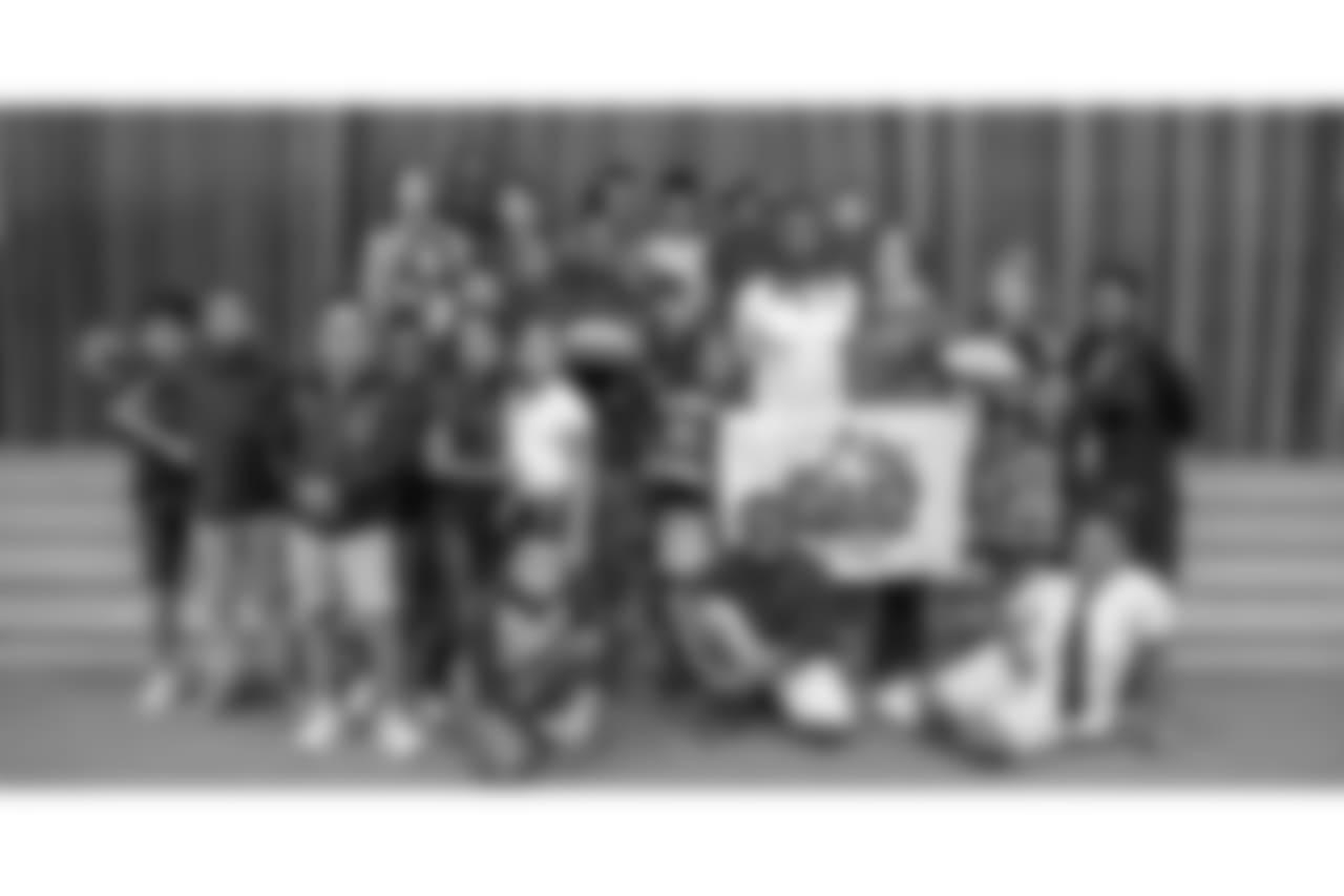 Houston Texans, award, teachers, Tyler Ervin, Cooper, ES, Elementary