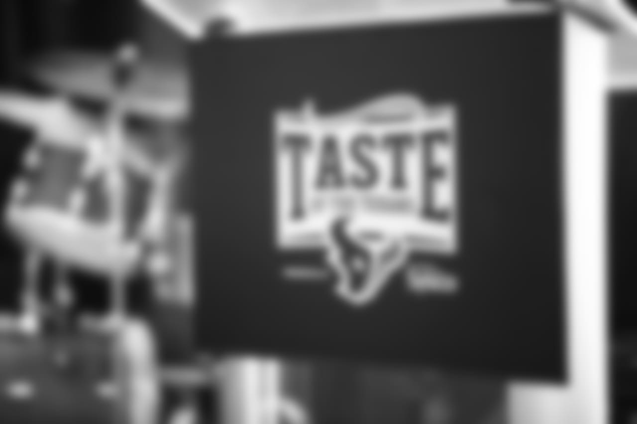 An image from the Nov. 5, 2018 Taste of the Texans event at NRG Stadium.