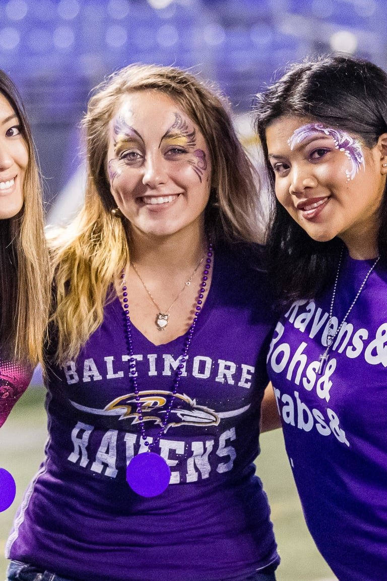 Ravens Purple Just For Women | Baltimore Ravens