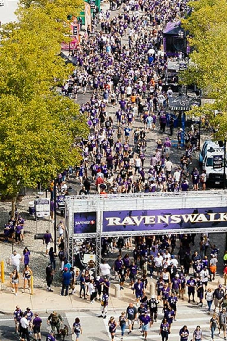 M&T Bank Stadium Directions & Parking | Baltimore Ravens