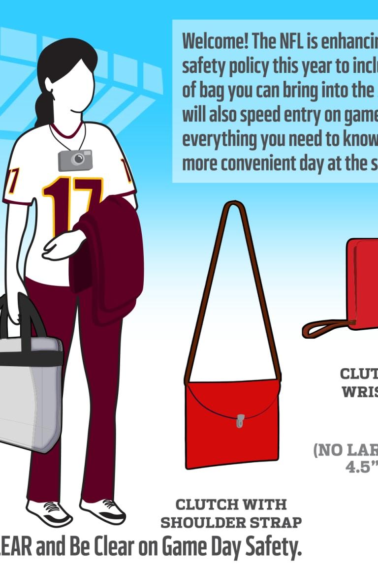 Clear Bag Policy At Fedexfield Washington Redskins Redskins Com