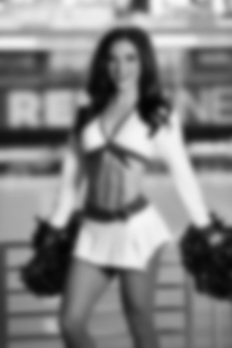 2020 Cardinals Cheerleader White Uniform BRYNN