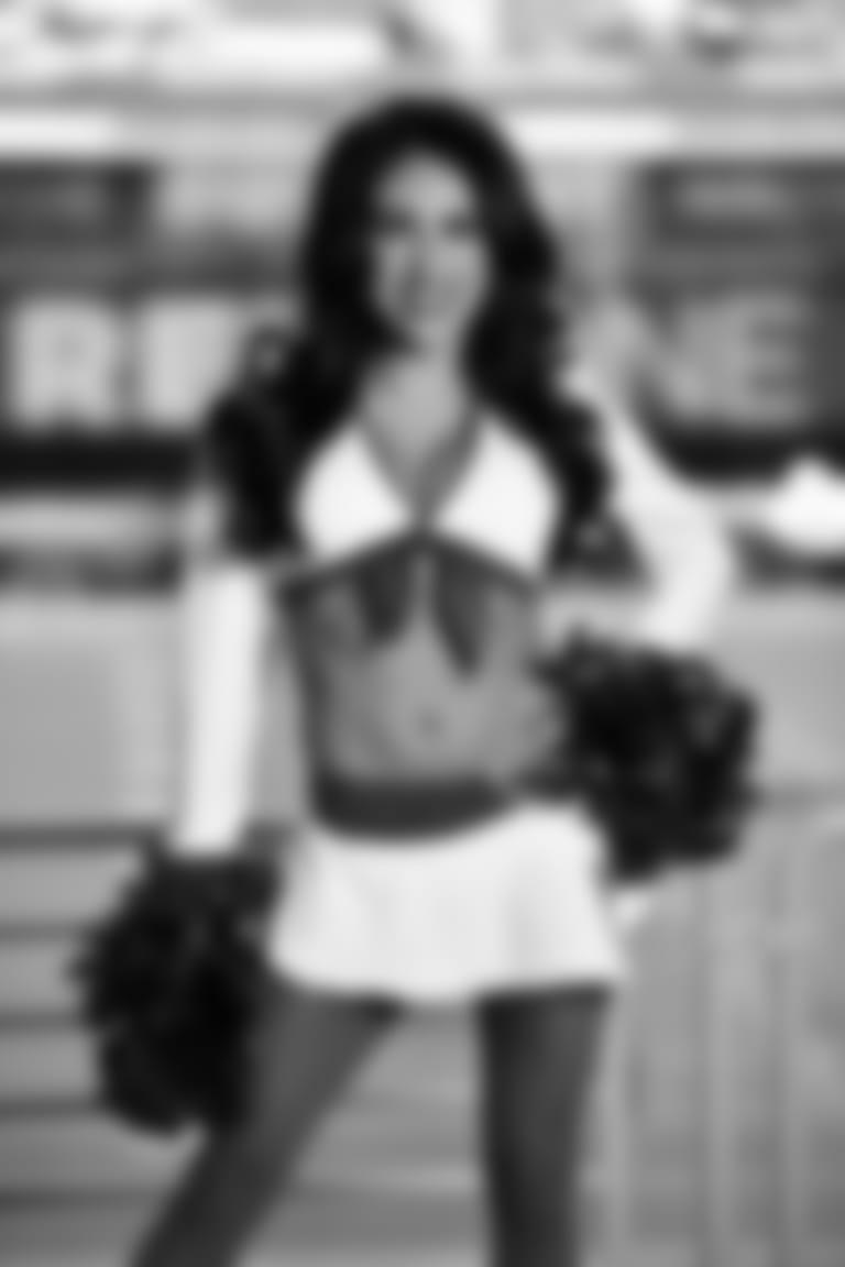 2020 Cardinals Cheerleader White Uniform ANGELICA