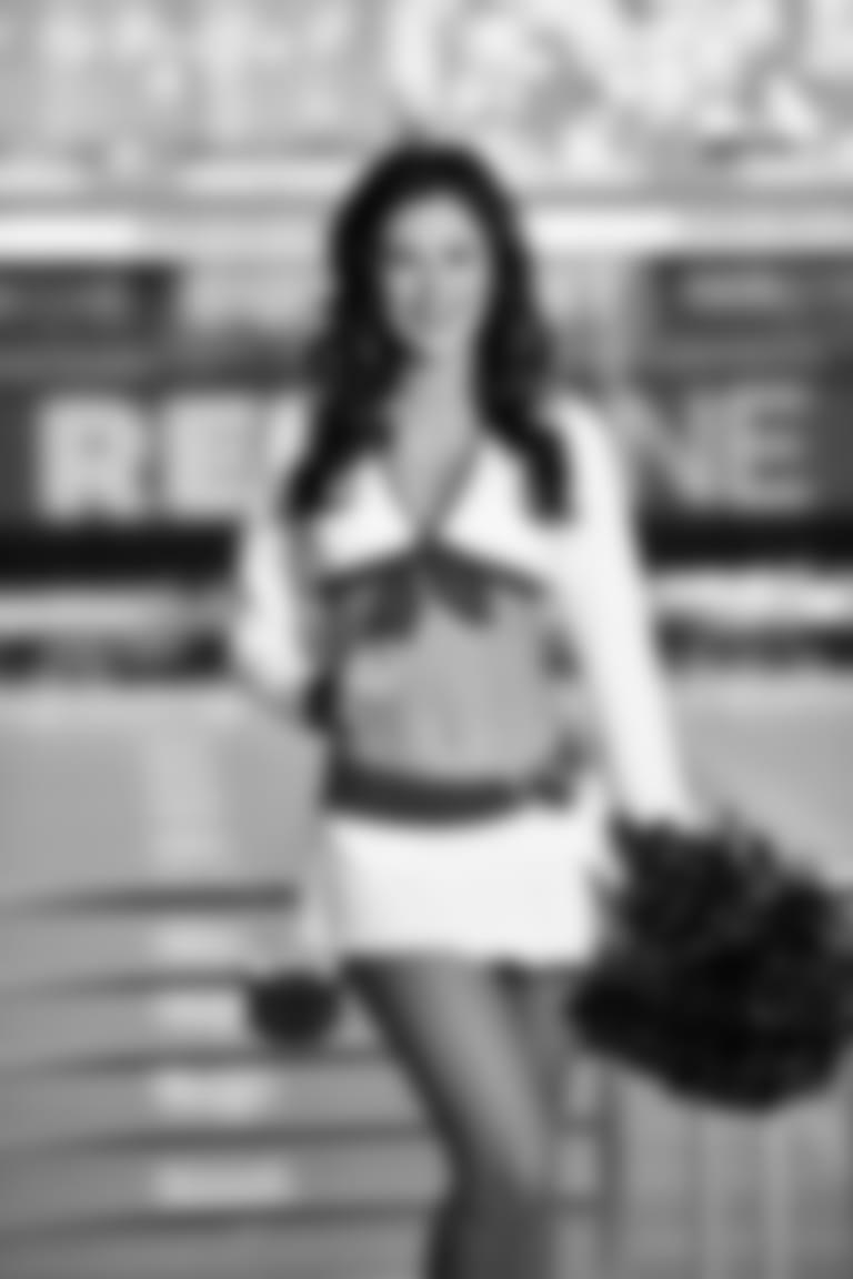 2020 Cardinals Cheerleader White Uniform AMANDA