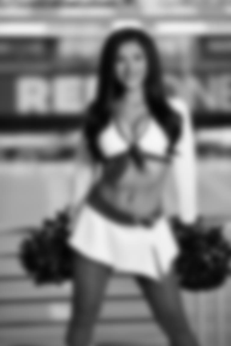 2020 Cardinals Cheerleader White Uniform VANESSA