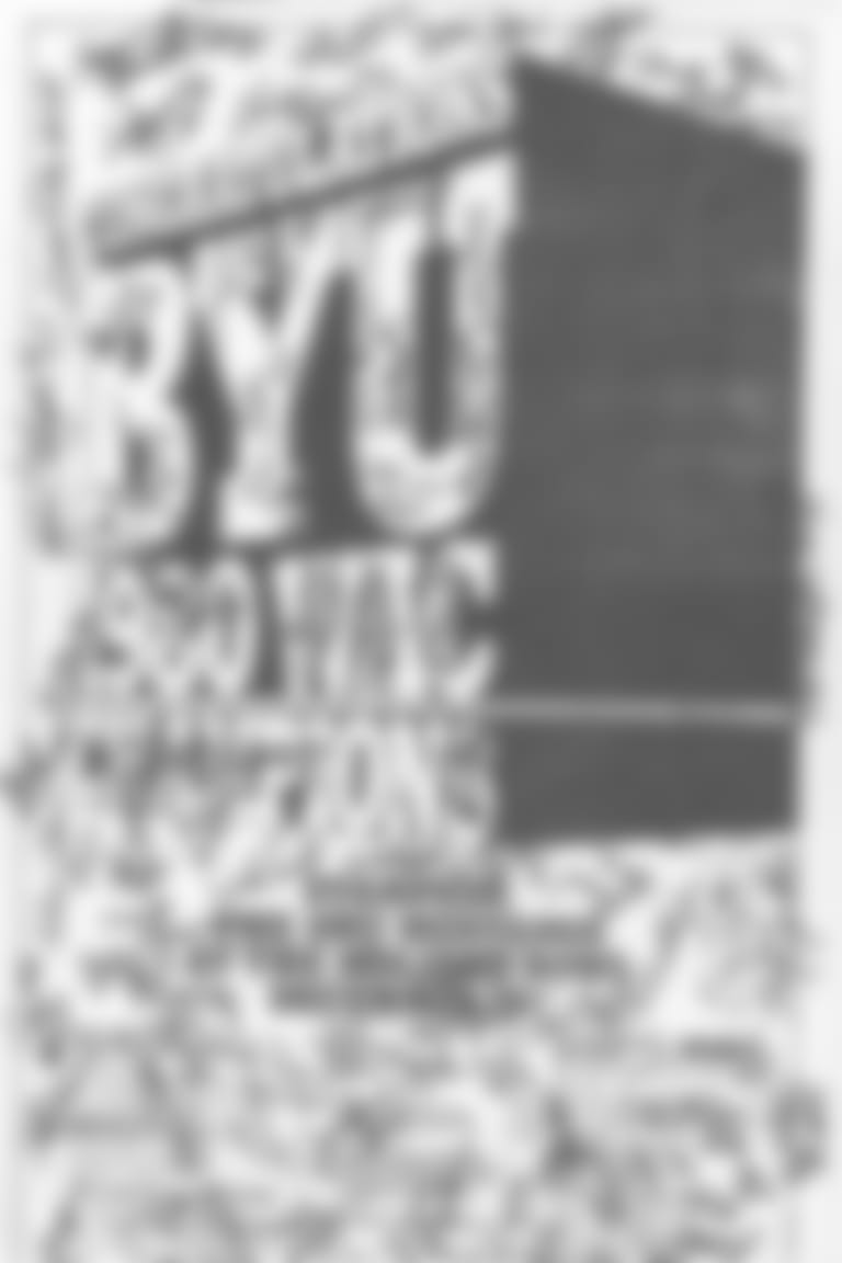 Newspaper cover for BYU's 1980 victory in the Holiday Bowl