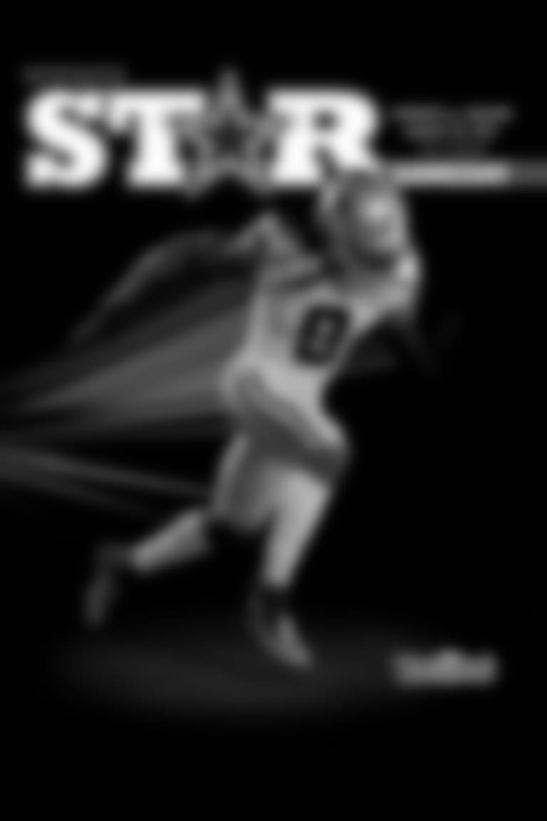Star Magazine Program   vs Jacksonville Jaguars