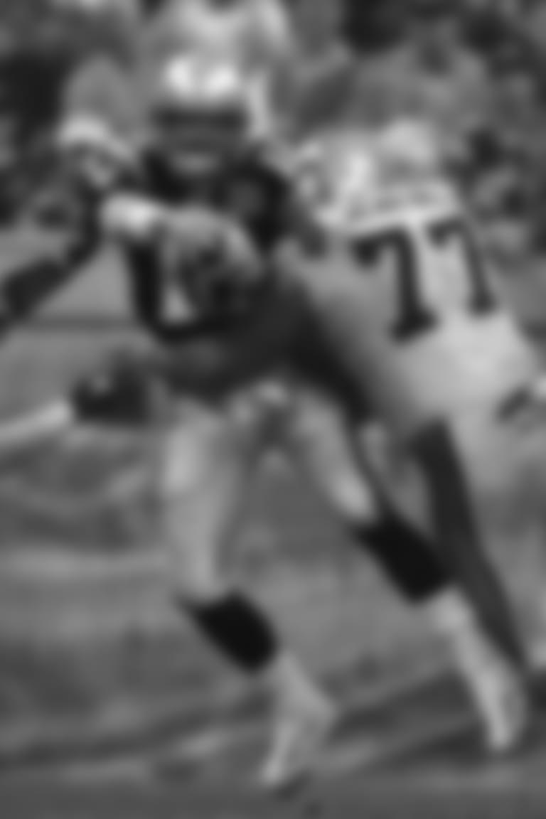 Tom Brady hit
