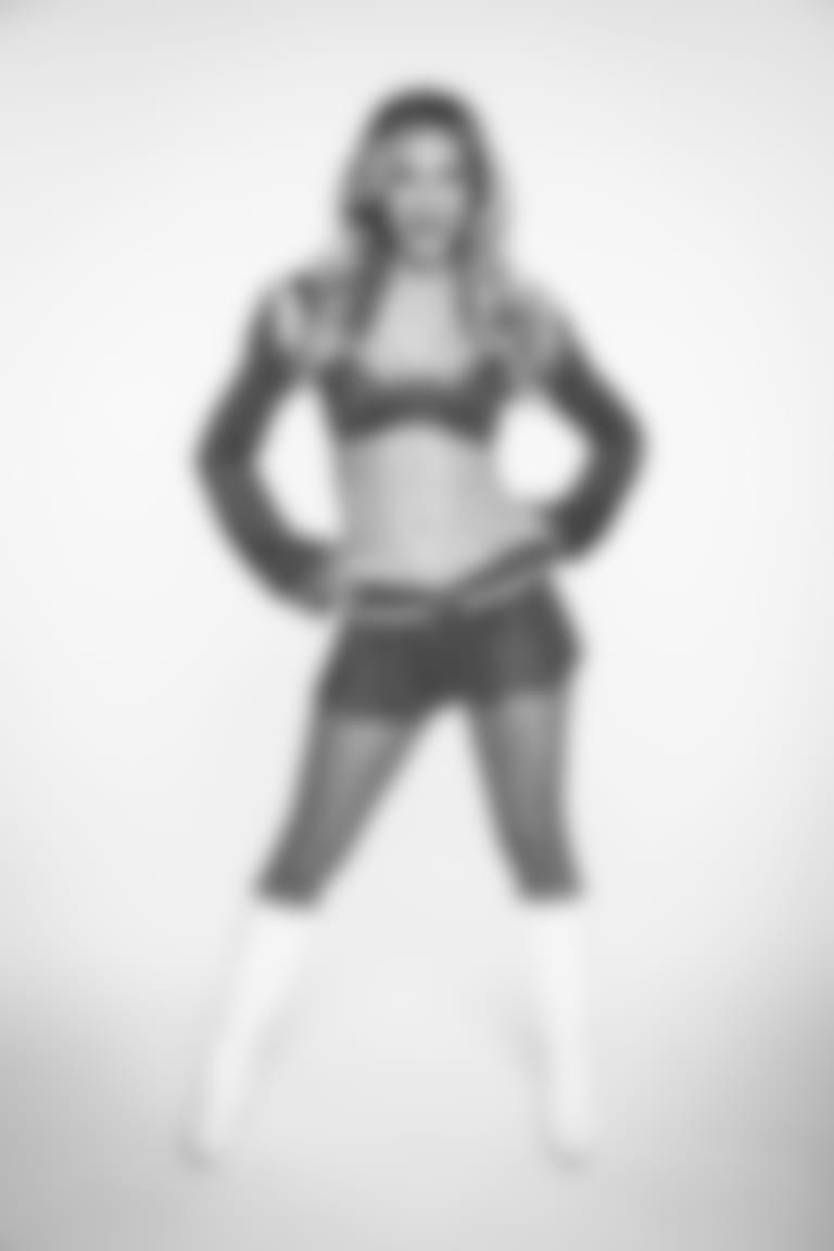 Samantha Olson of the Los Angeles Rams Cheerleaders poses, Saturday, February 27, 2021 in Los Angeles, CA. (Will Navarro/LA Rams)