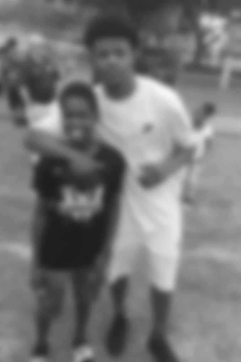 Hezekiah Harris and quarterback Lamar Jackson