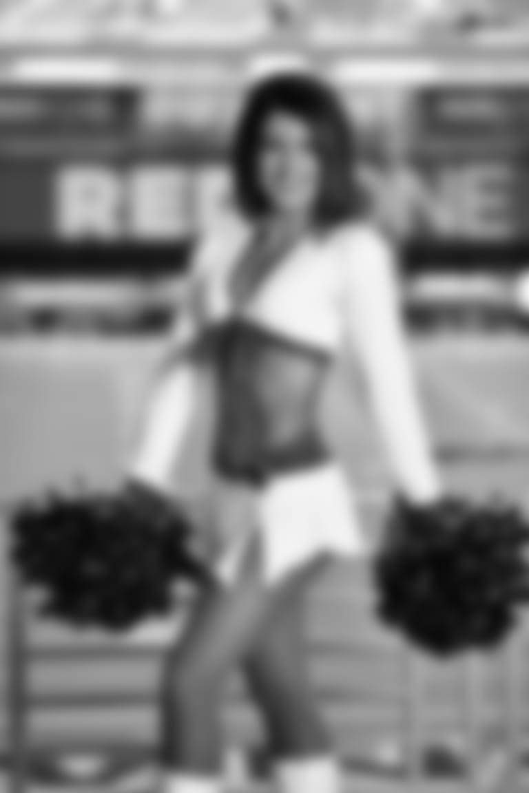 2020 Cardinals Cheerleader White Uniform MONICA