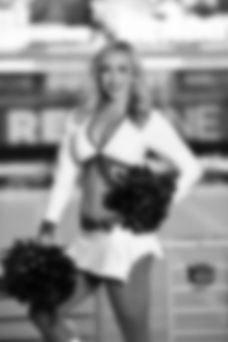 2020 Cardinals Cheerleader White Uniform SAVANNAH