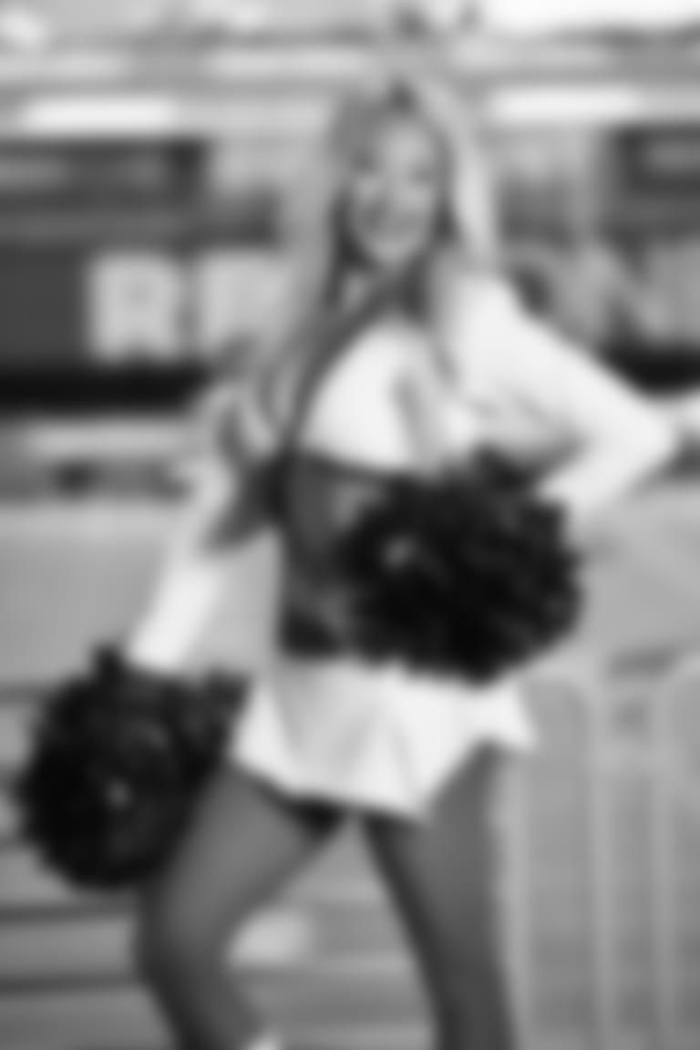 2020 Cardinals Cheerleader White Uniform JENNA
