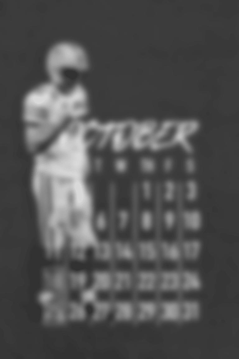 October Calendar - Aaron Rodgers