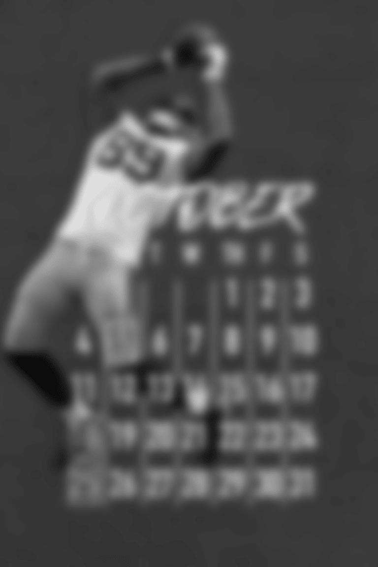 October Calendar - Marcedes Lewis