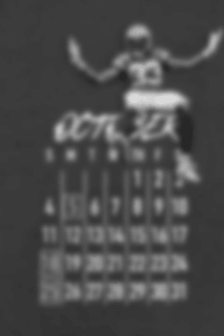 October Calendar - Aaron Jones