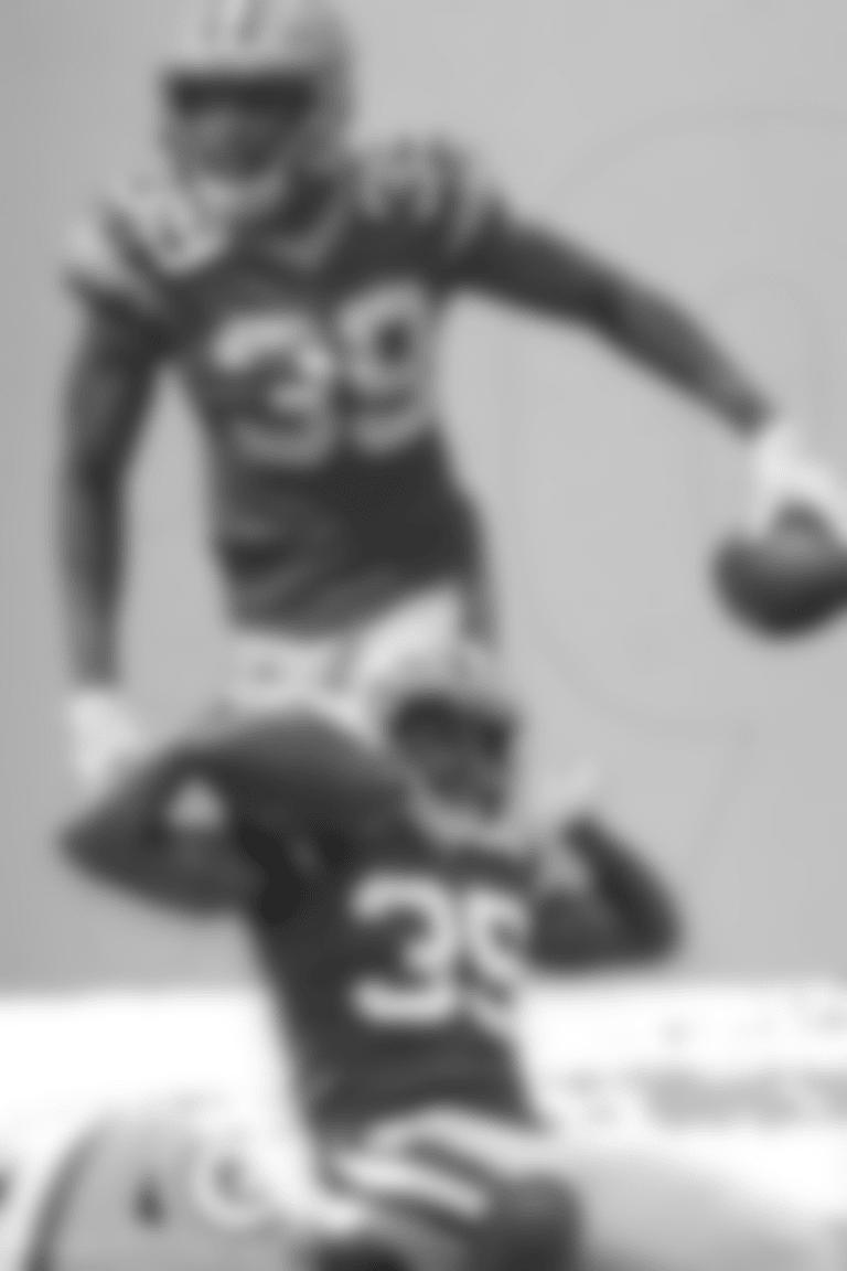 Chandon Sullivan - Lambeau Leap
