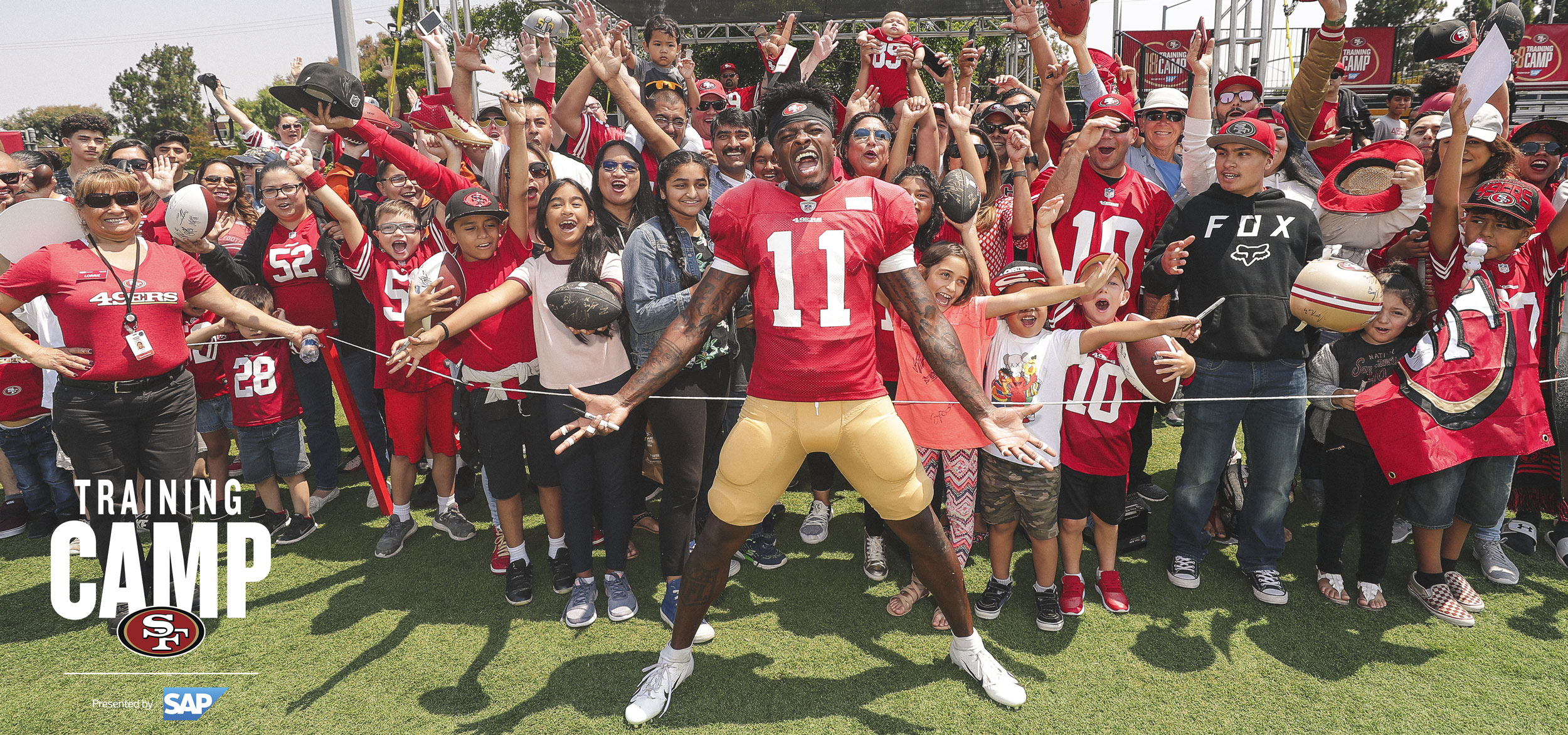 Click Here to Get Caught Up with All Things 49ers Training Camp Presented by SAP