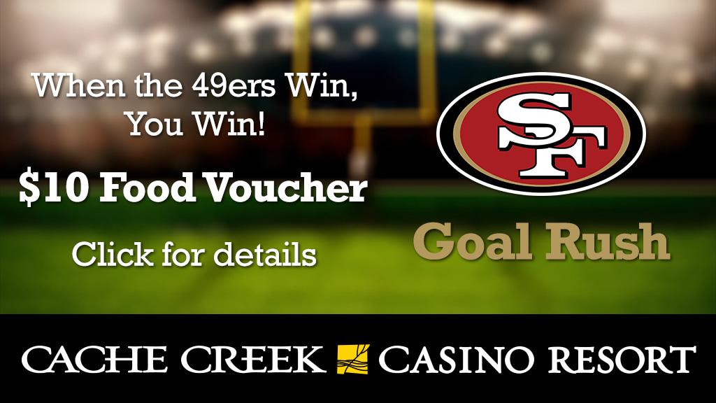 The Cache Creek Casino Resort GOAL RUSH