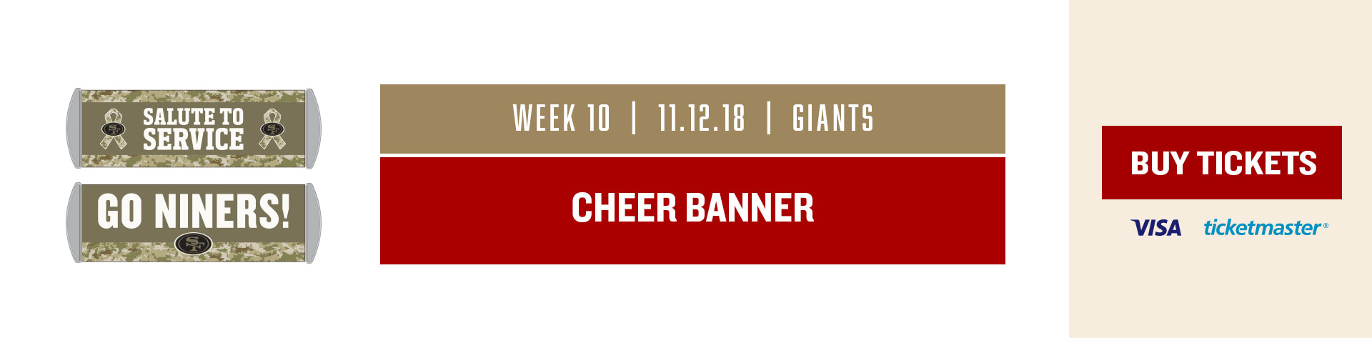 Giants game day giveaways