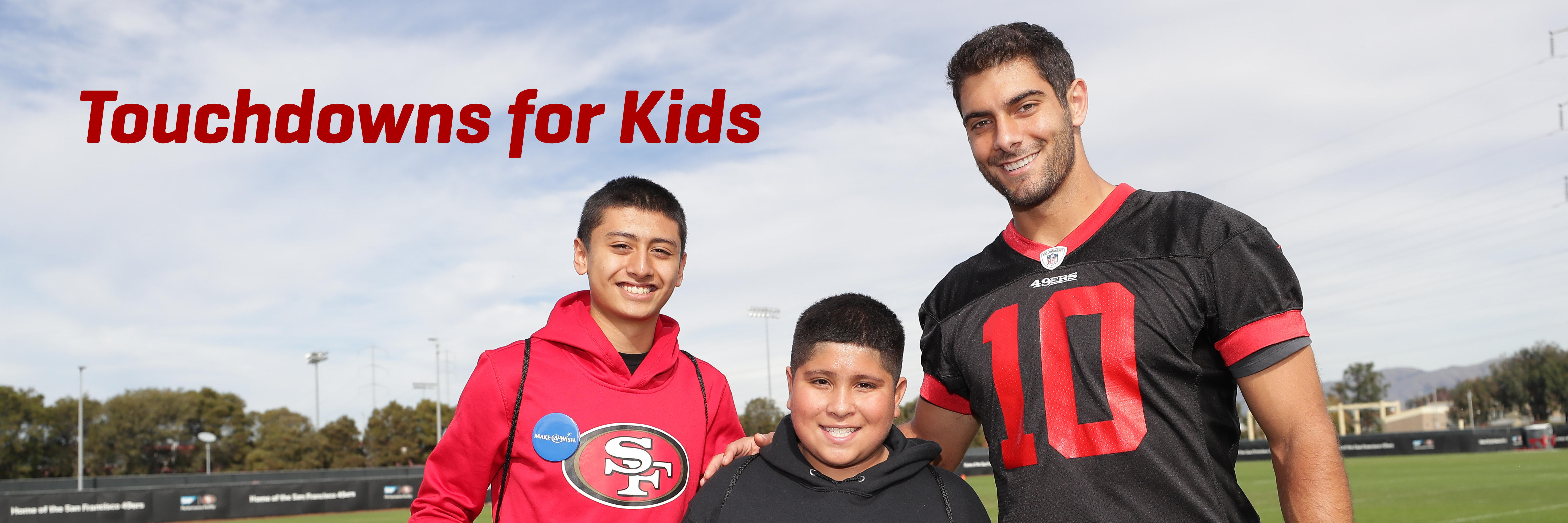 Celebrating the 49ers Success on the Field with Charitable Contributions off the Field