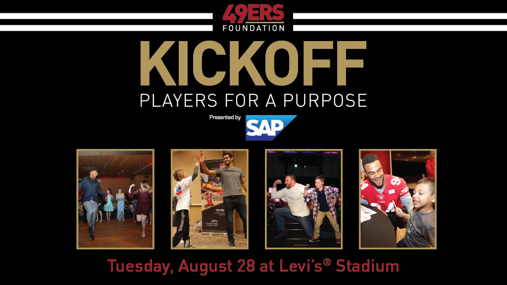49ers Foundation's Kickoff: Players for a Purpose
