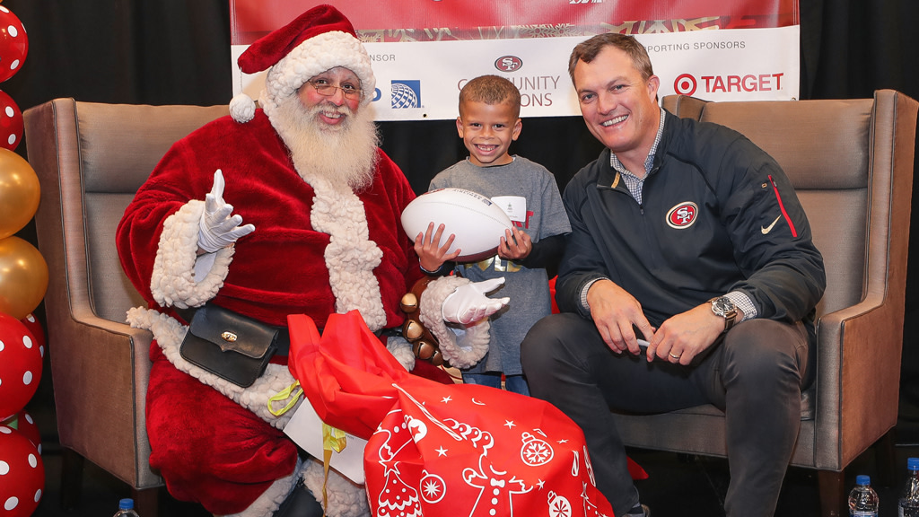 December 16: John Lynch Foundation Christmas Party Presented by United Airlines