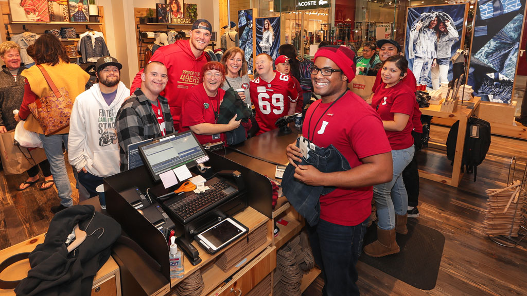 December 17: Levi's® and Mike McGlinchey Shop with a Player Event