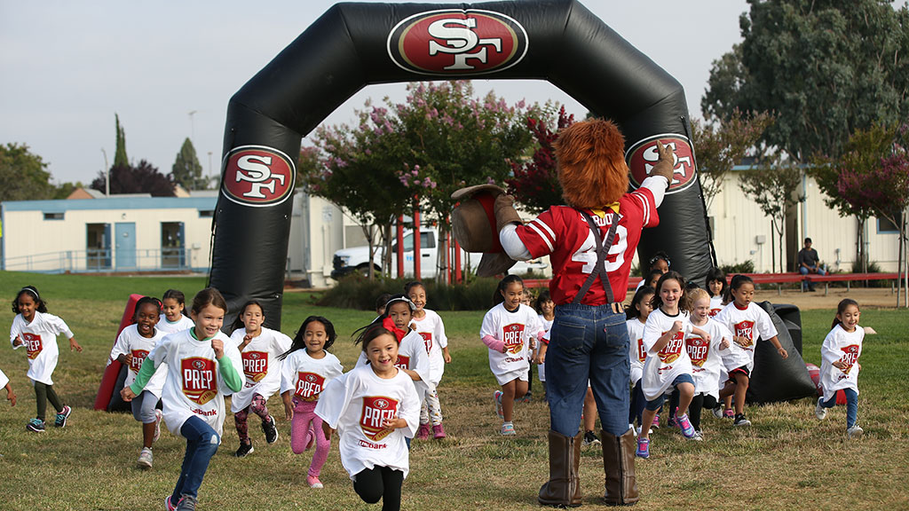 49ers Jr. Rush Fun Run