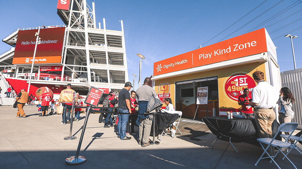 Dignity Health Play Kind Zone