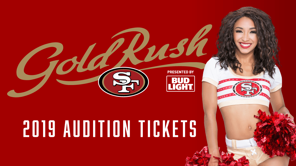 2019 Gold Rush Audition Tickets
